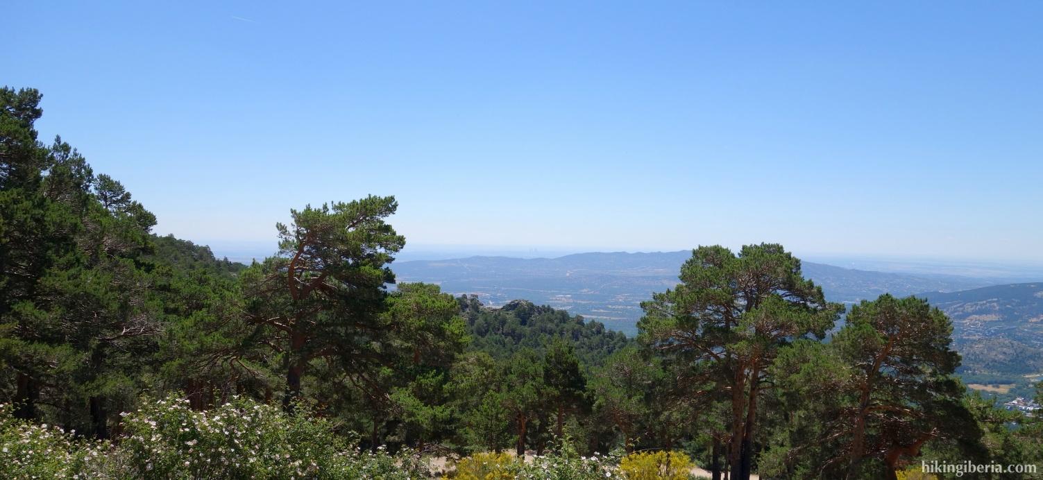 Uitzicht vanaf de Senda Ecológica
