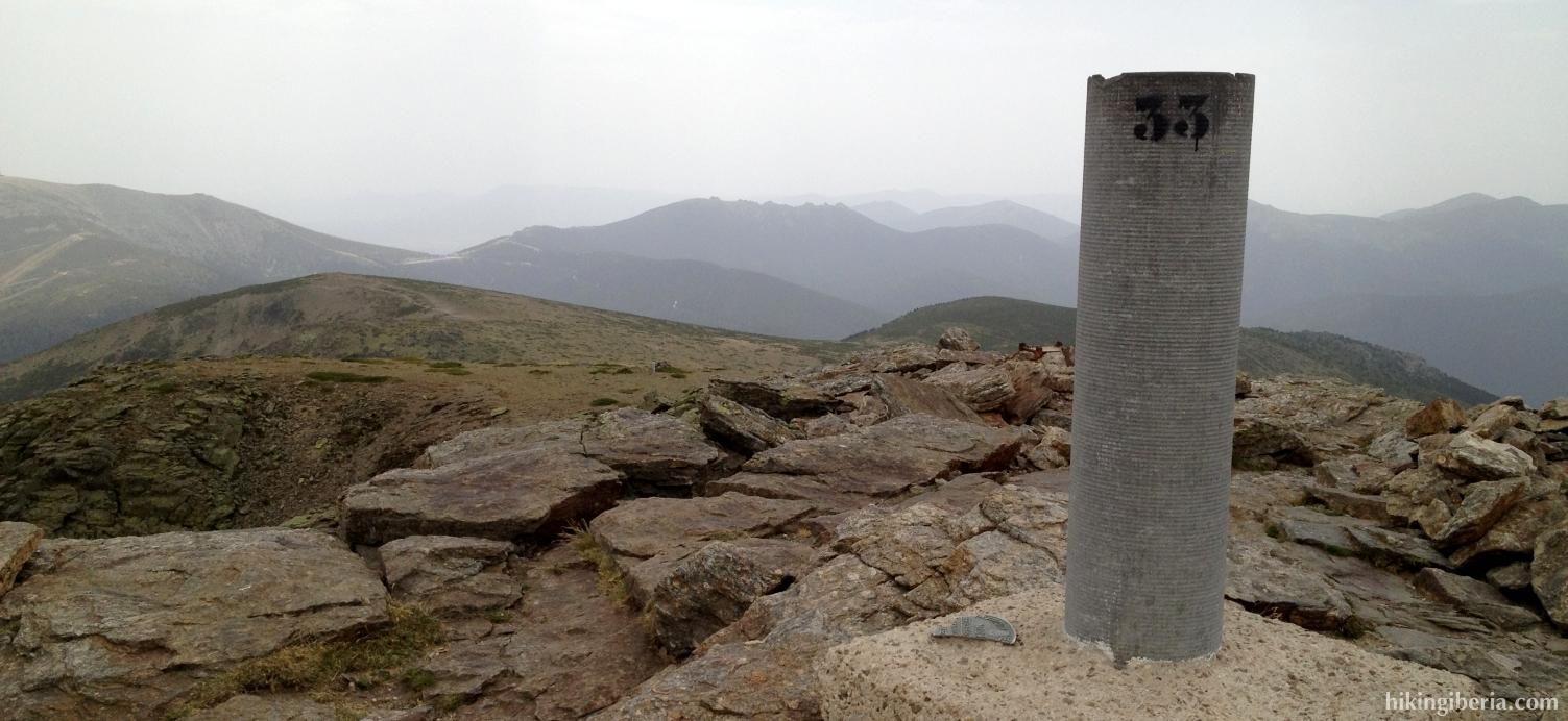 Summit Peñalara