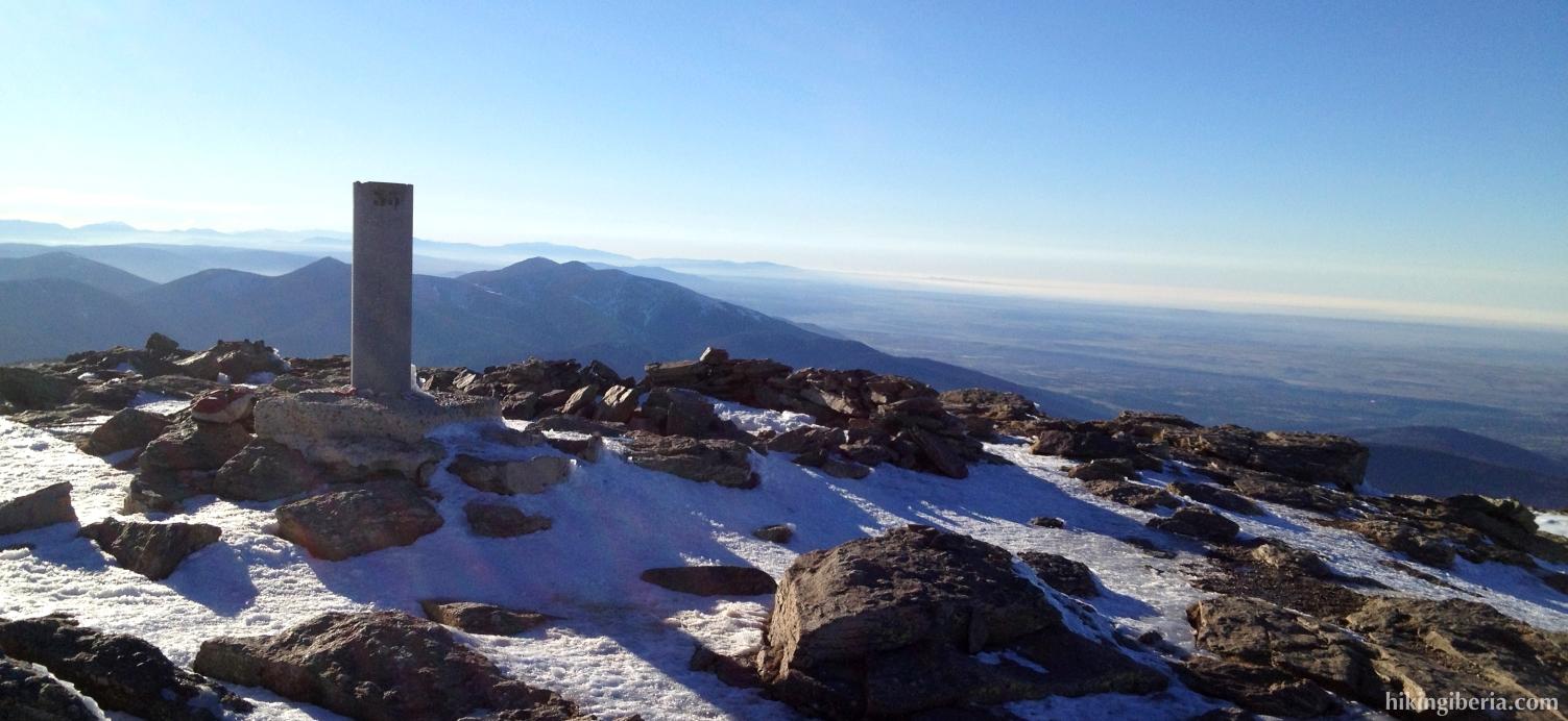 On the peak of Peñalara
