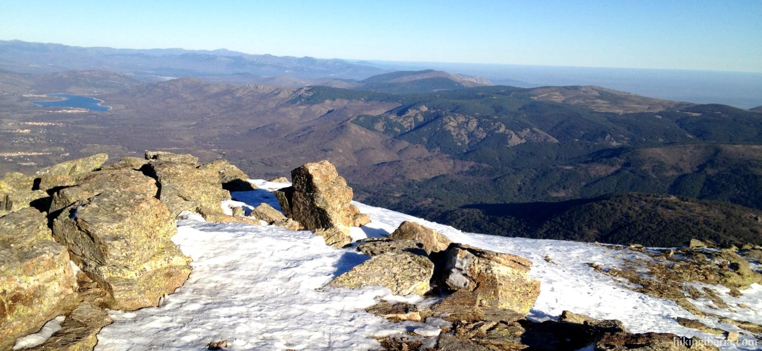 En la cima de Peñalara