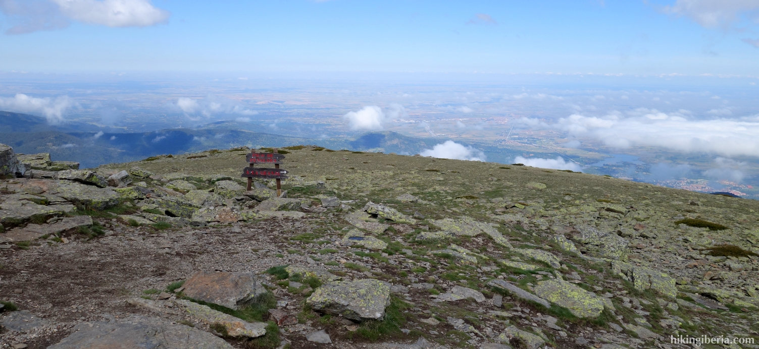 On the peak of Peñalara (June 2014)