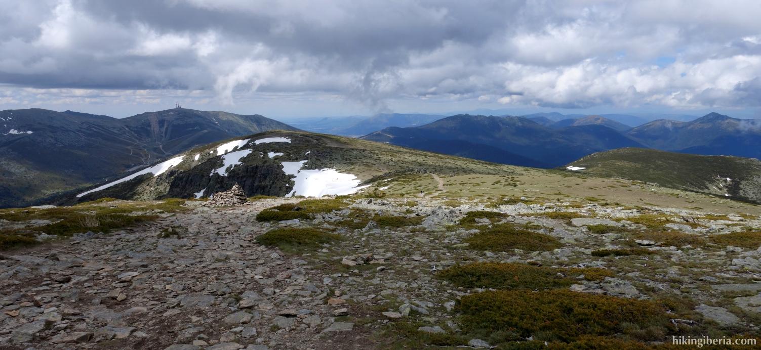 Sulla cima di Peñalara (giugno 2014)