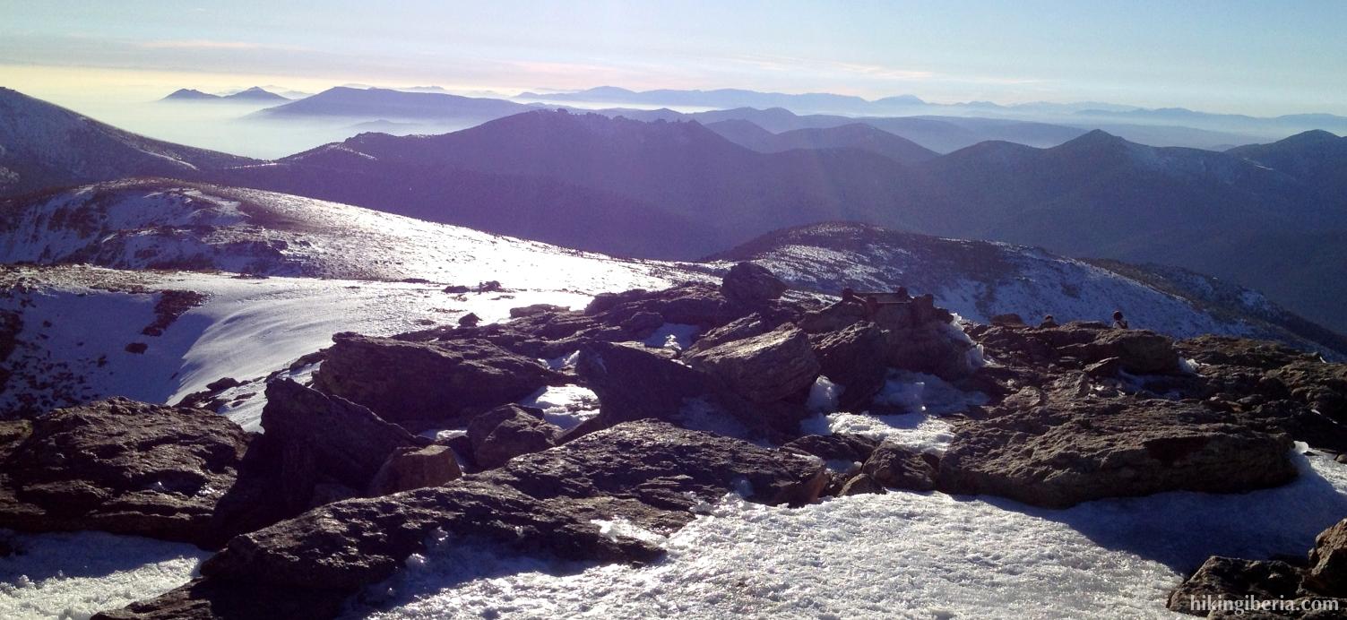 View from Peñalara