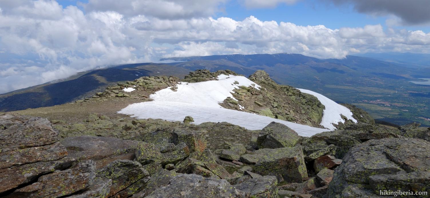 Vista desde Peñalara (junio 2014)