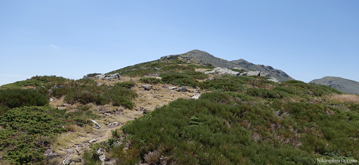 Klim naar de Cerro de la Muela