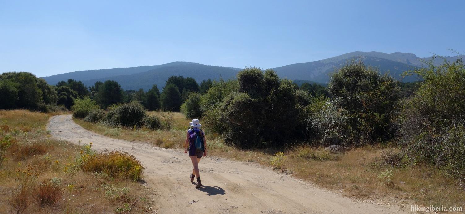 On the GR-88 via La Zarzuela