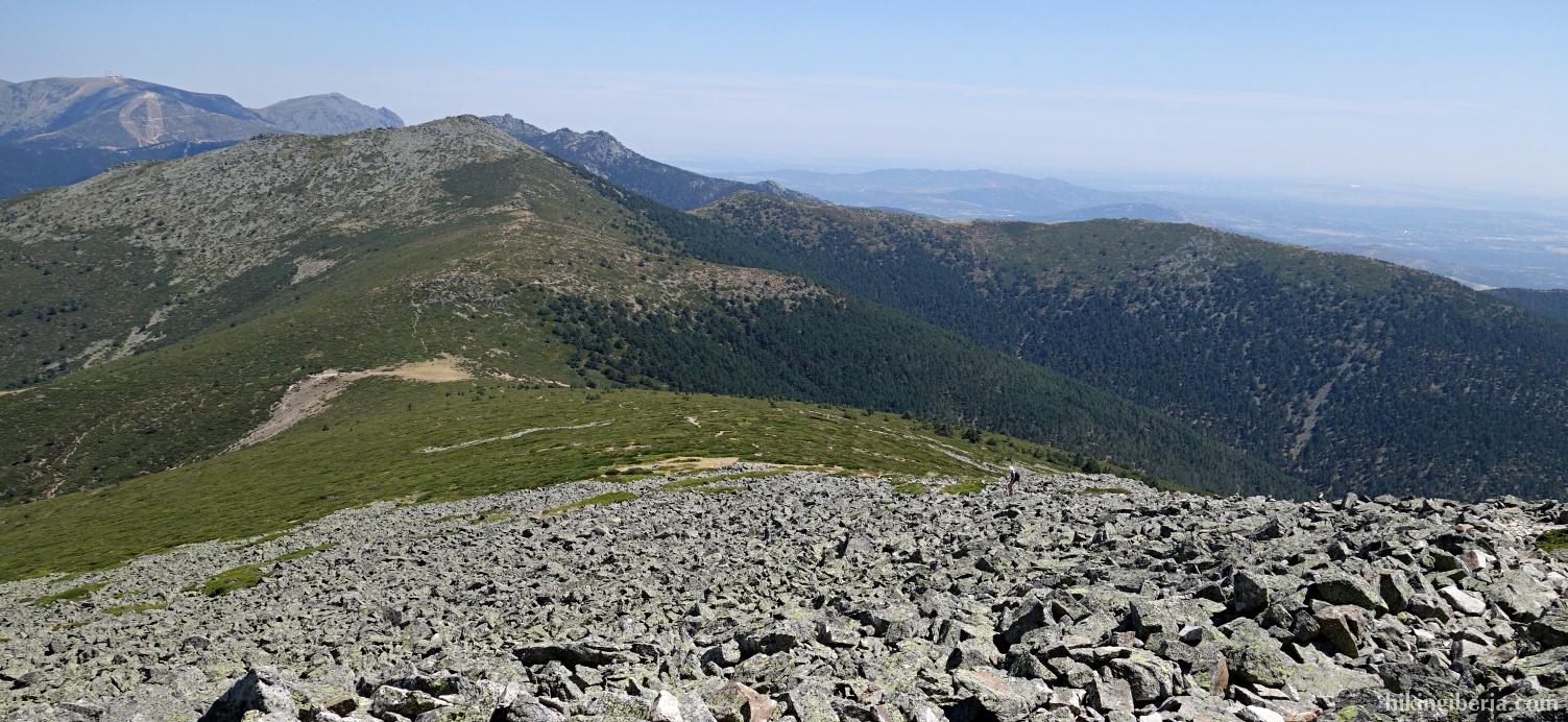 Aussicht ab La Pinareja