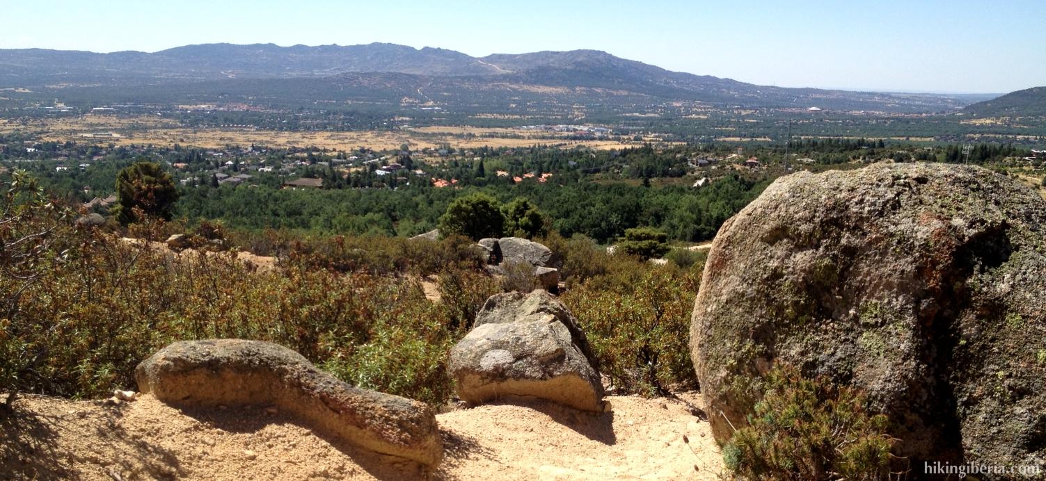 Vista hacia Mataelpino