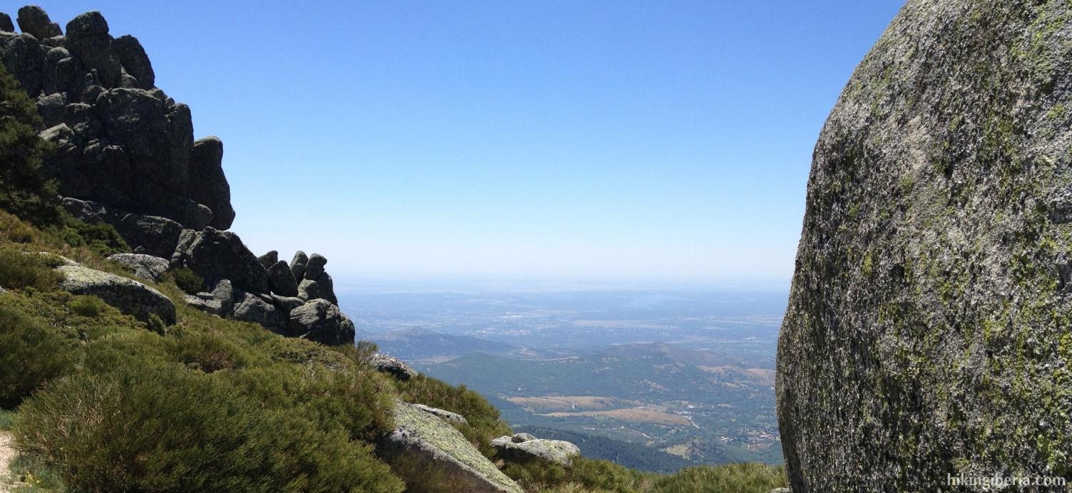En la cresta de Siete Picos