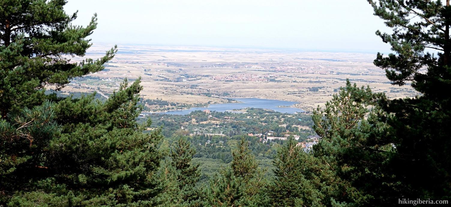 Reservoir of the Pontón Alto