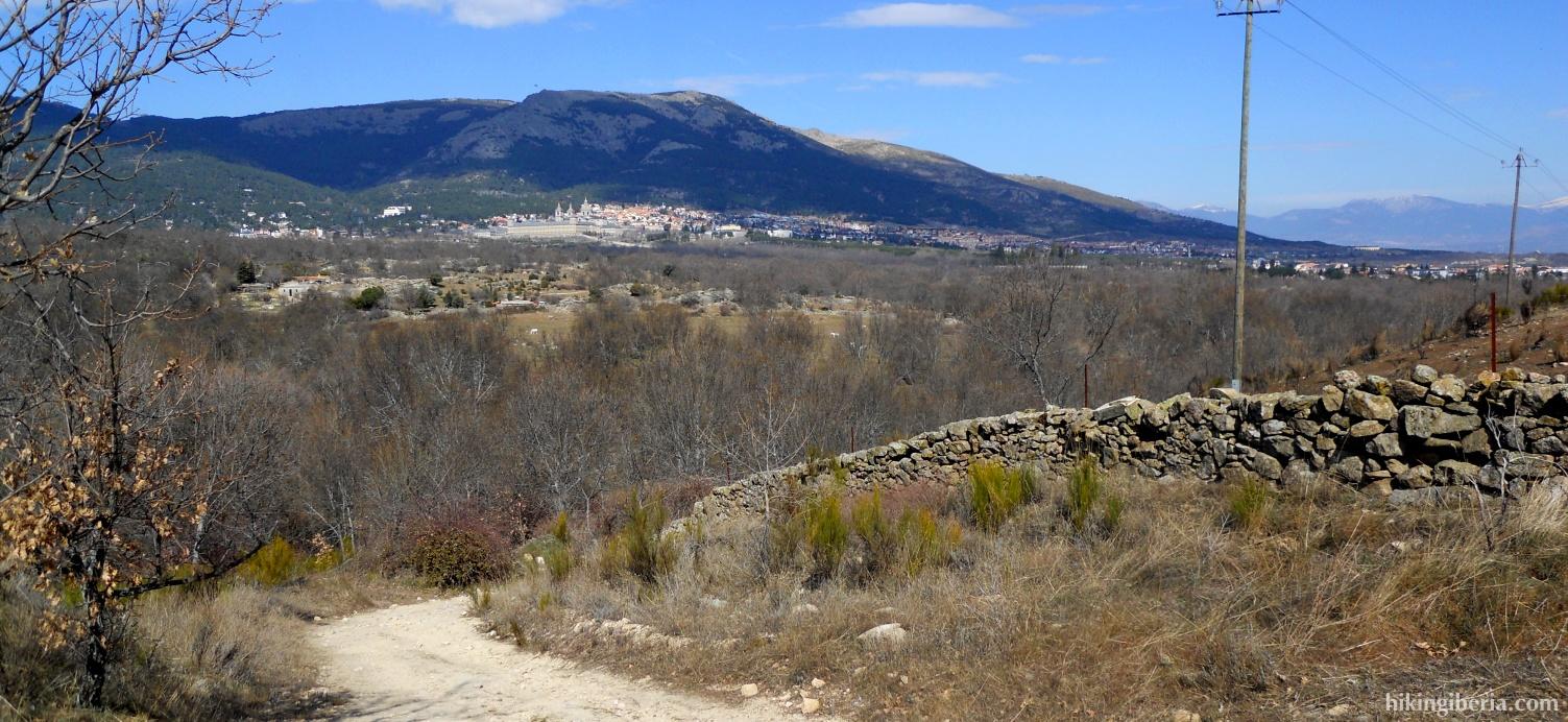 Vistas al Monasterio de San Lorenzo