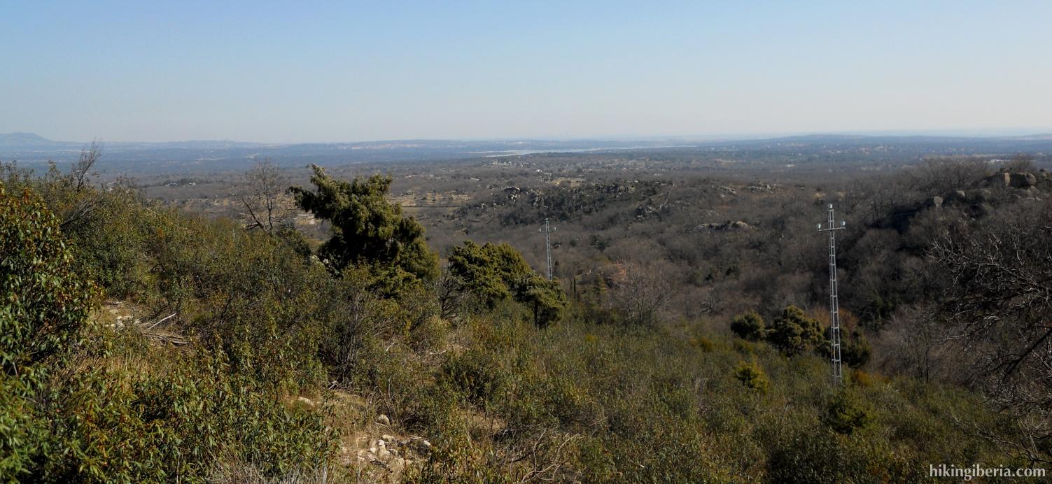 Vistas cerca de la Silla de Felipe II