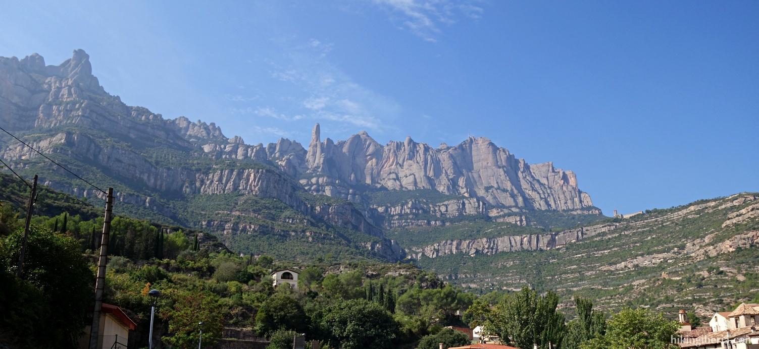 View on the Montserrat