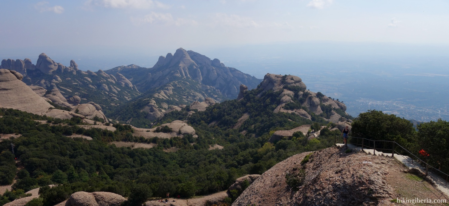 Uitzicht vanaf Sant Jeroni