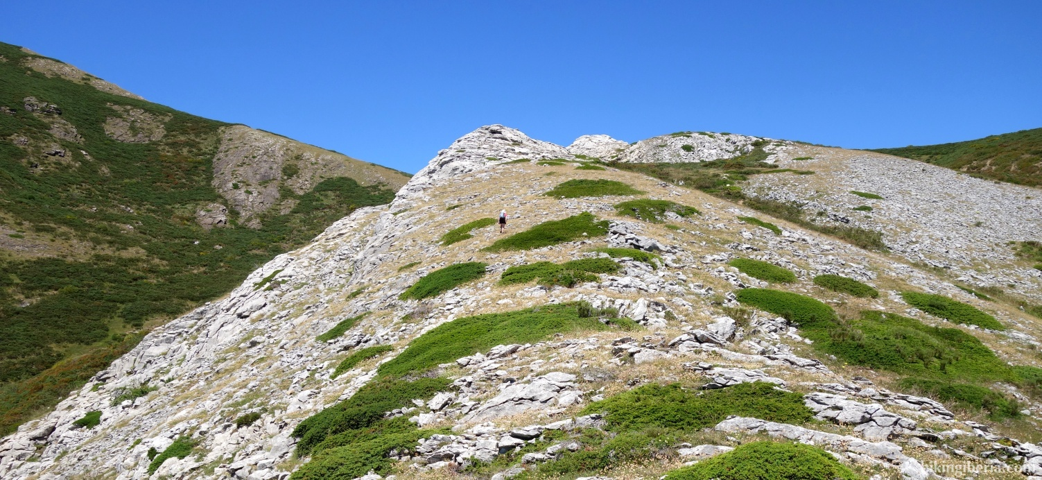 Klim naar de Alto del Joverón