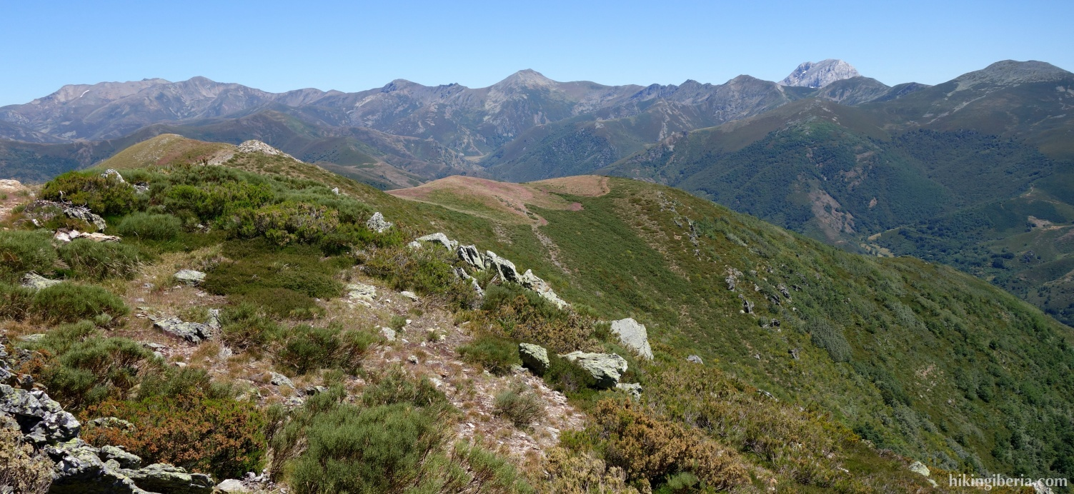 View from the Alto de los Cotorros