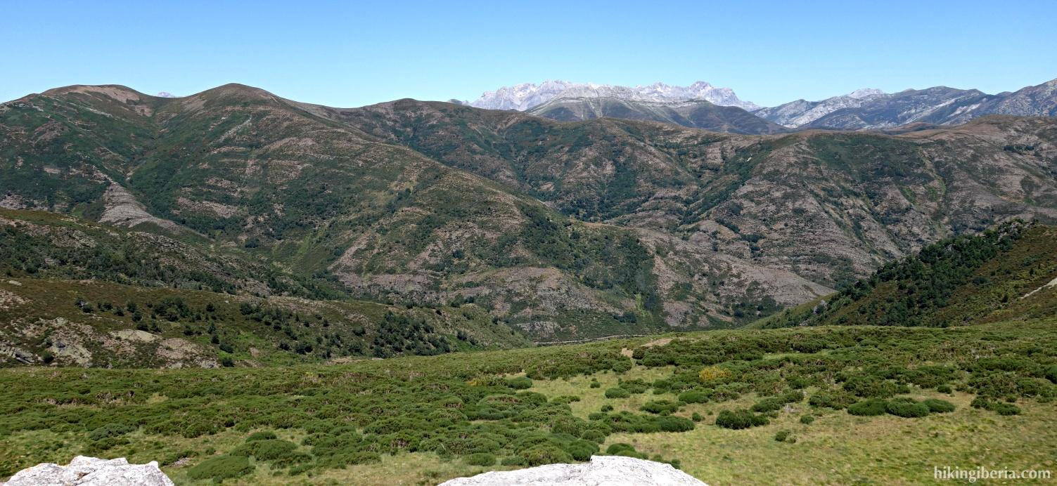 Aussicht vom Alto del Joverón