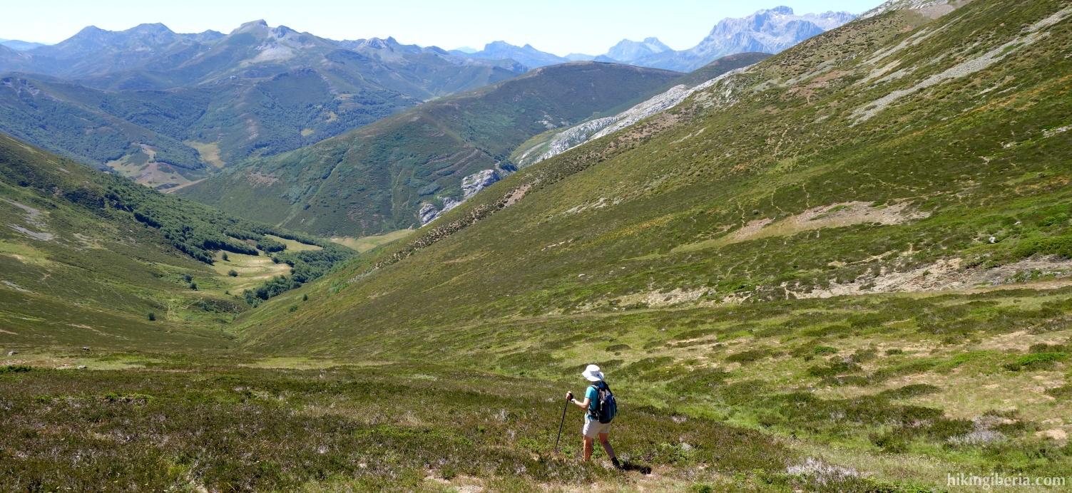 Descent to the Arroyo de Puermán