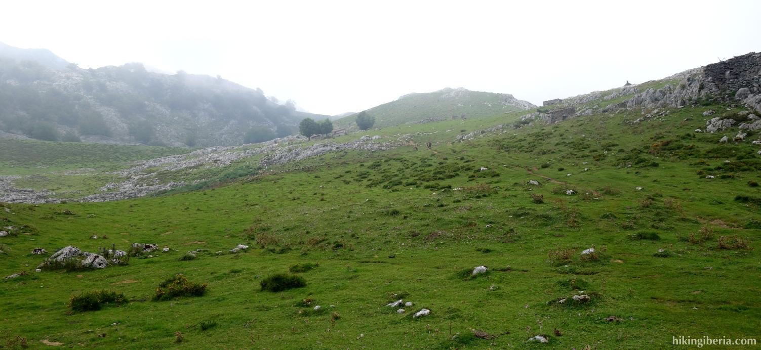 Steig zu den Lagos de Covadonga