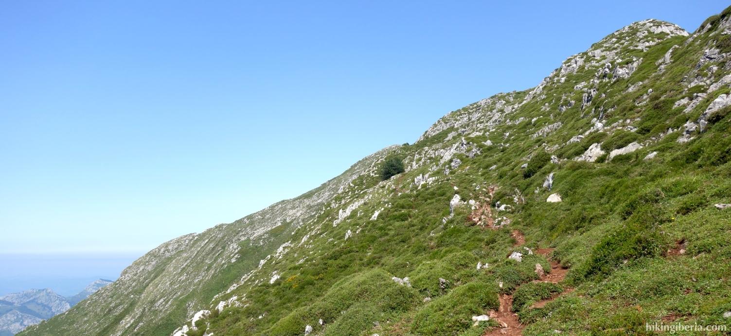 Aufstieg zum Pico Pierzo