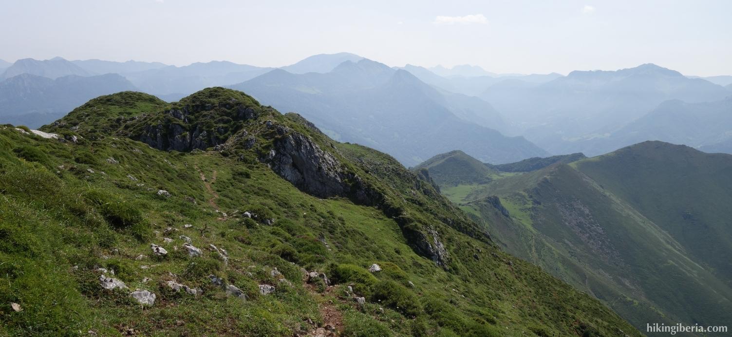 Vistas desde el Pico Pierzo