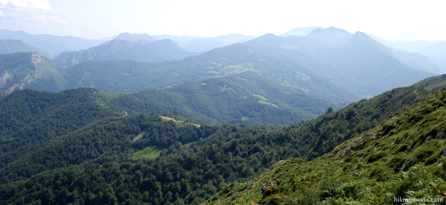 Views from the Pico Pierzo