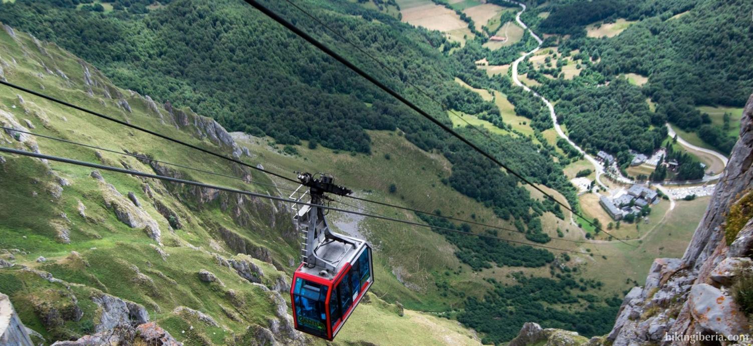 Cable car of Fuente Dé