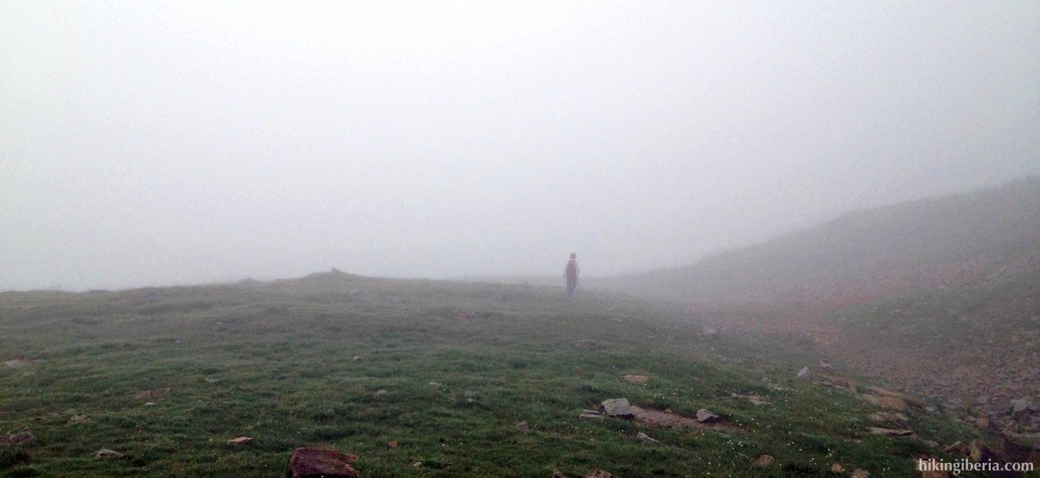 Return through the mist