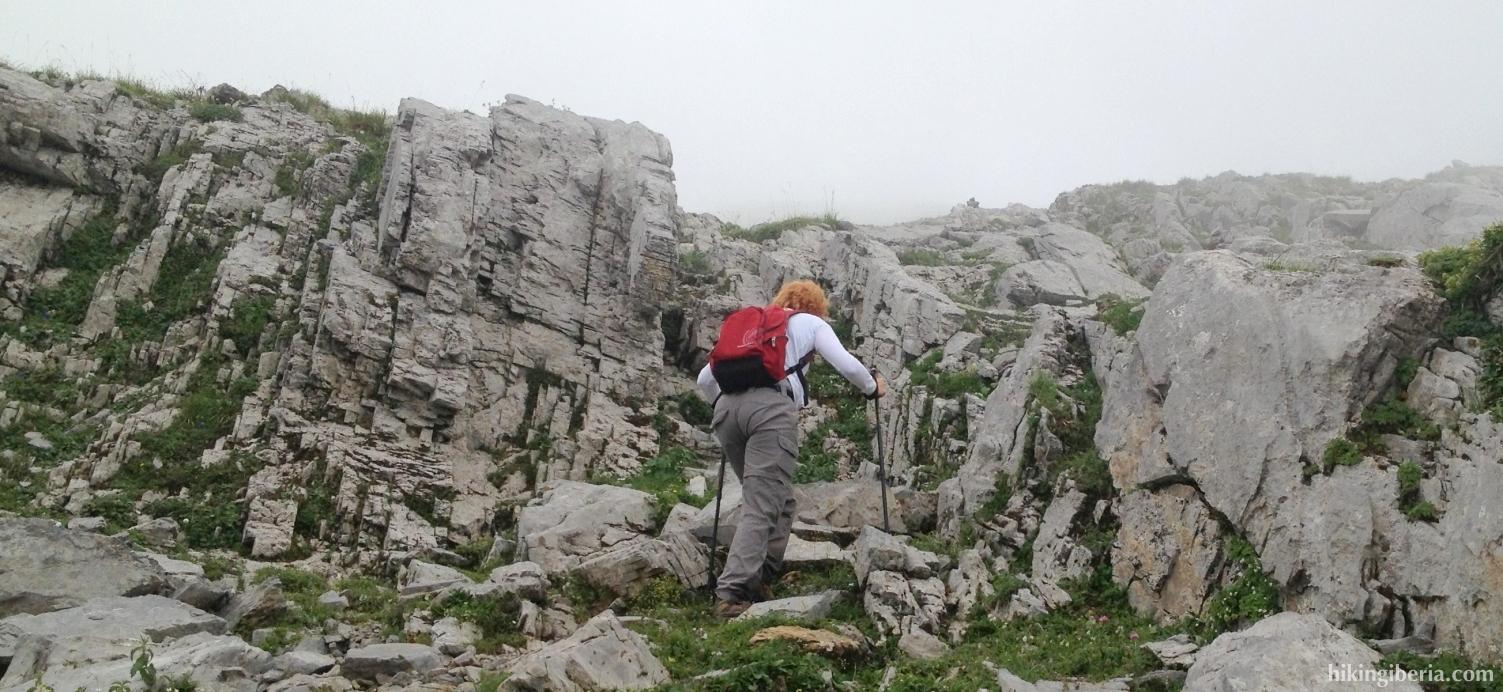Ascent via El Calcinar