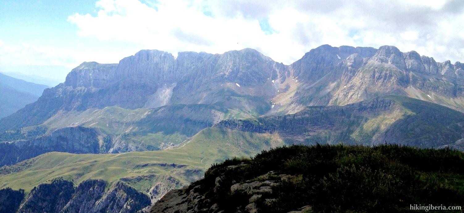Uitzicht vanaf La Planada