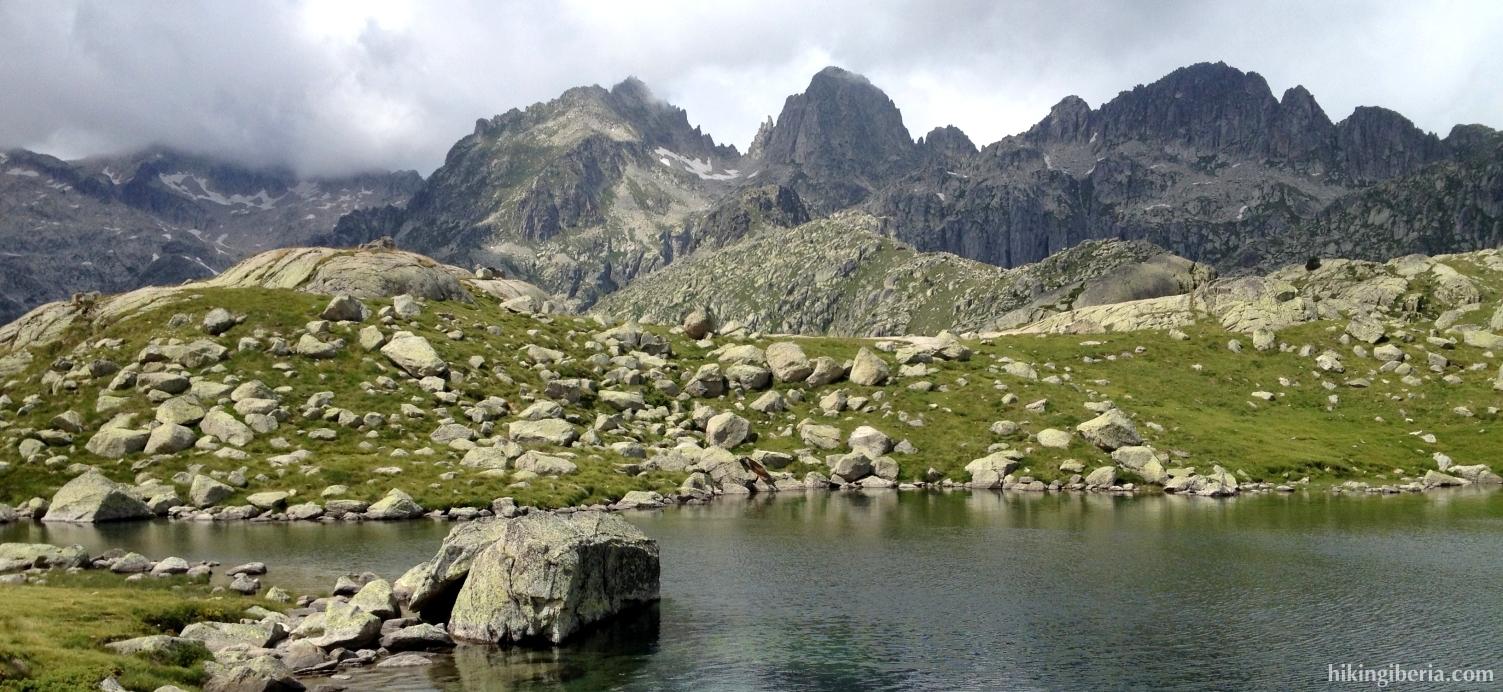 See in der Nähe vom Estany de Travessani
