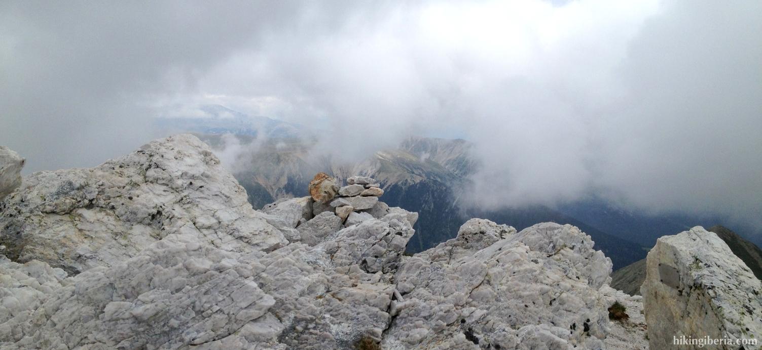 Uitzicht vanaf de Gra de Fajol
