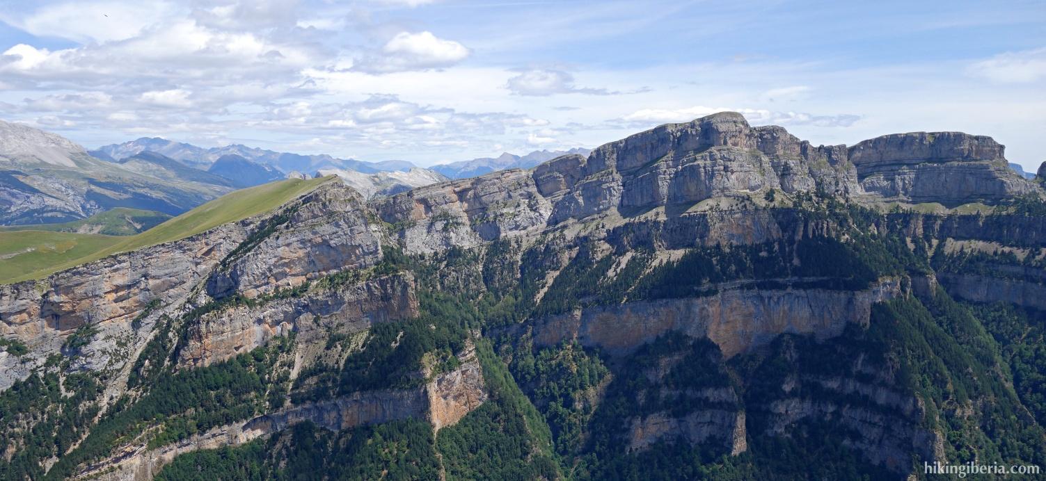 Uitzicht over het Parque de Ordesa y Monte Perdido
