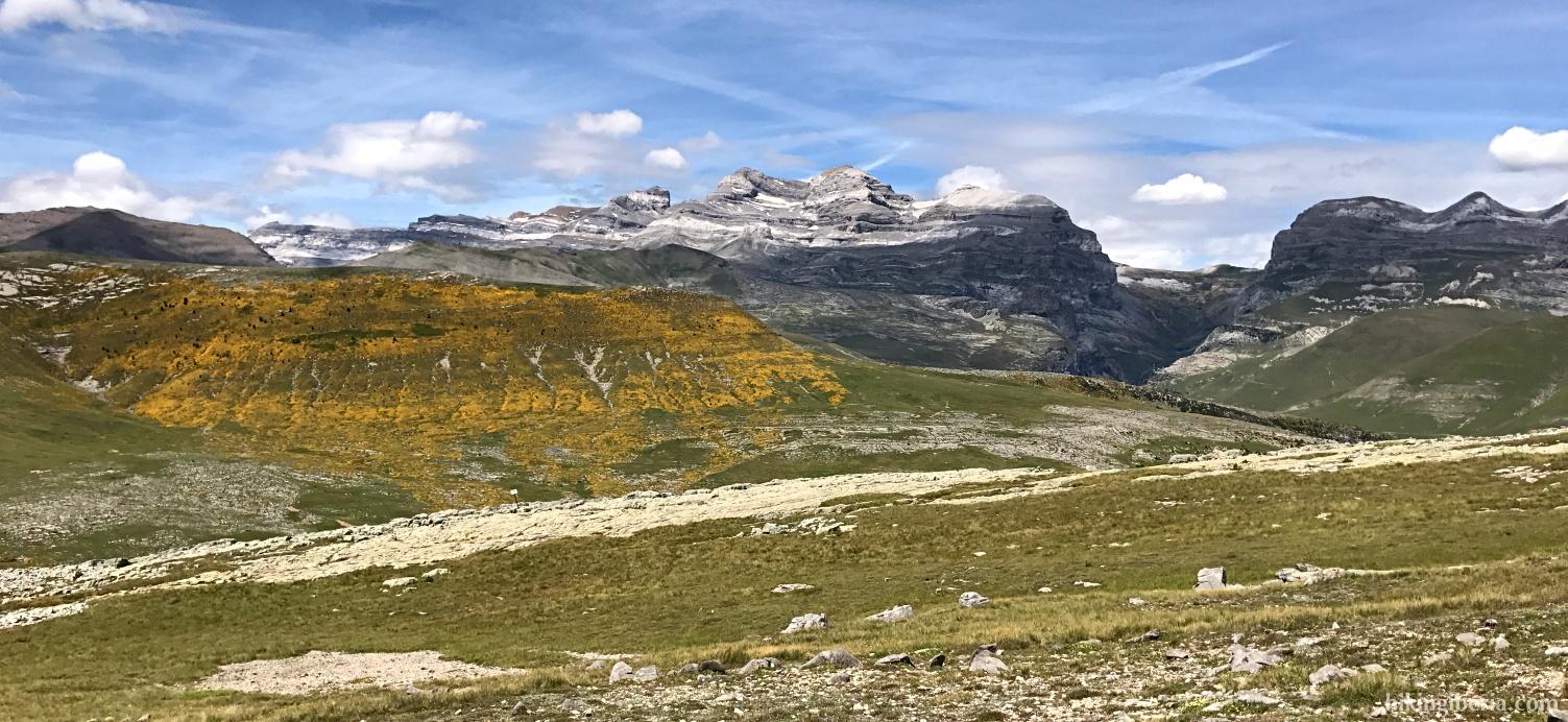 Vistas sobre el Parque de Ordesa y Monte Perdido