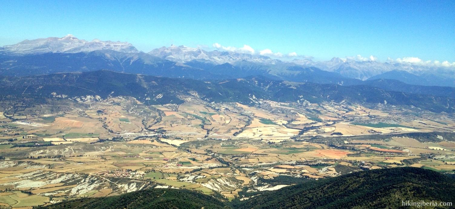 Vista desde la Peña Oroel