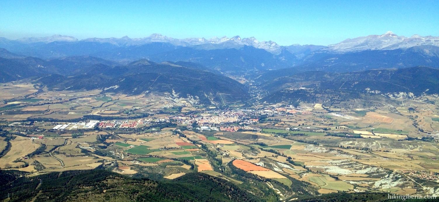 View over Jaca
