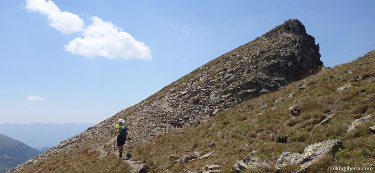 Aufstieg zum Pic Negre d'Envalira