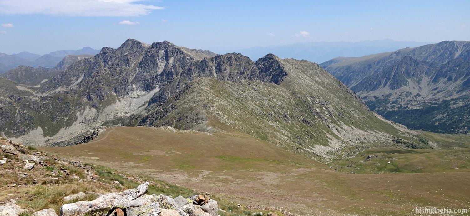 Uitzicht vanaf de Pic Negre d'Envalira