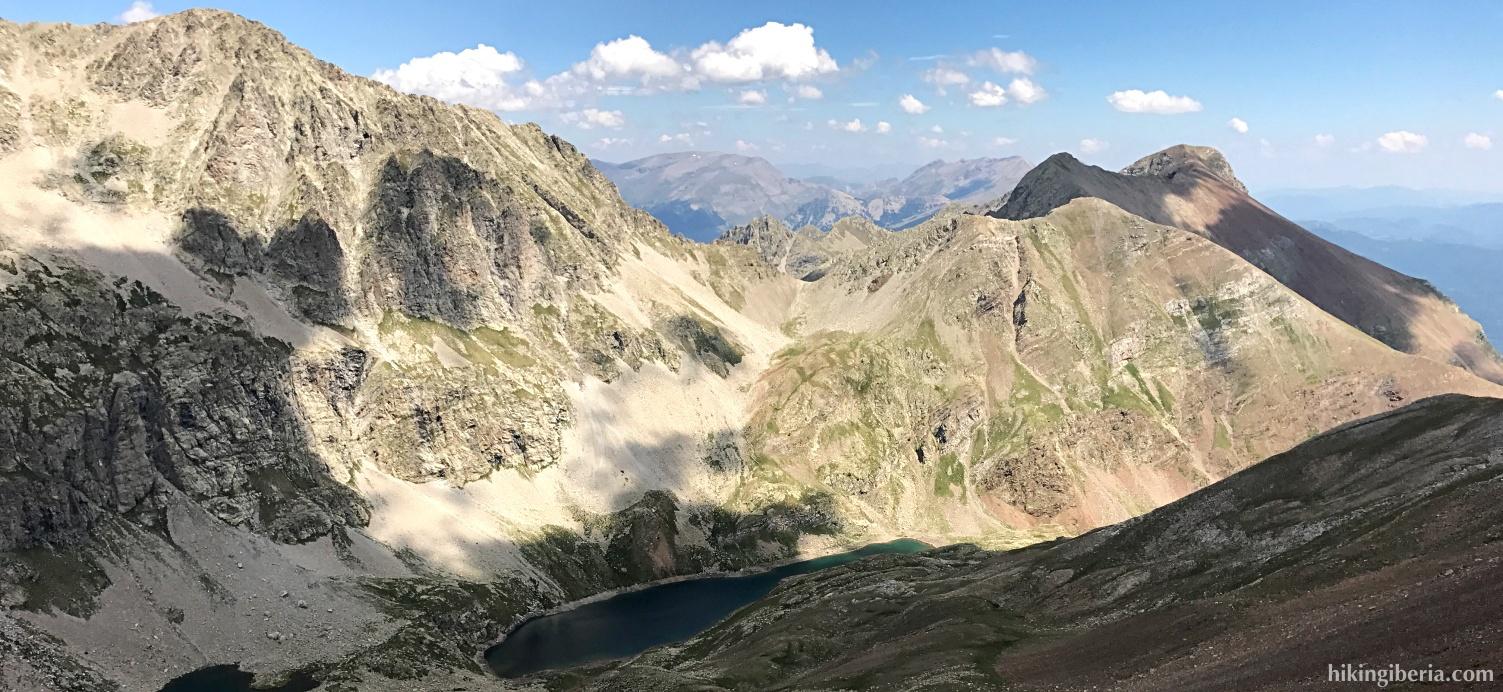 Views from the Pico Barbarisa