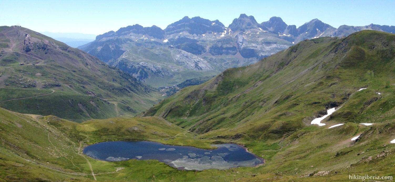 Uitzicht vanaf de Col de Benou