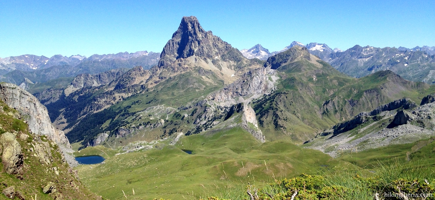 View from the Col de Benou