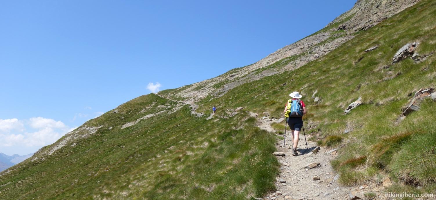 Aufstieg zum Pico Salbaguardia