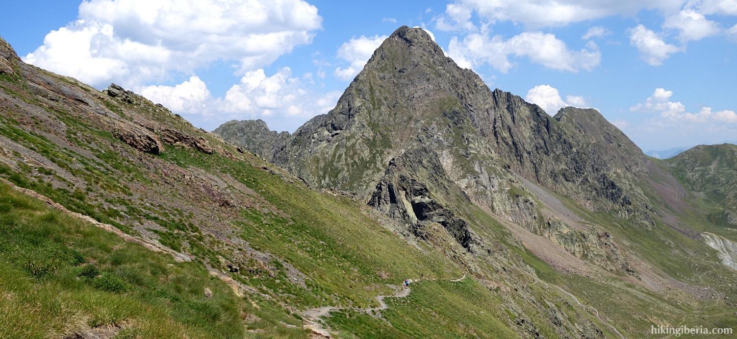Descenso del Pico Salbaguardia