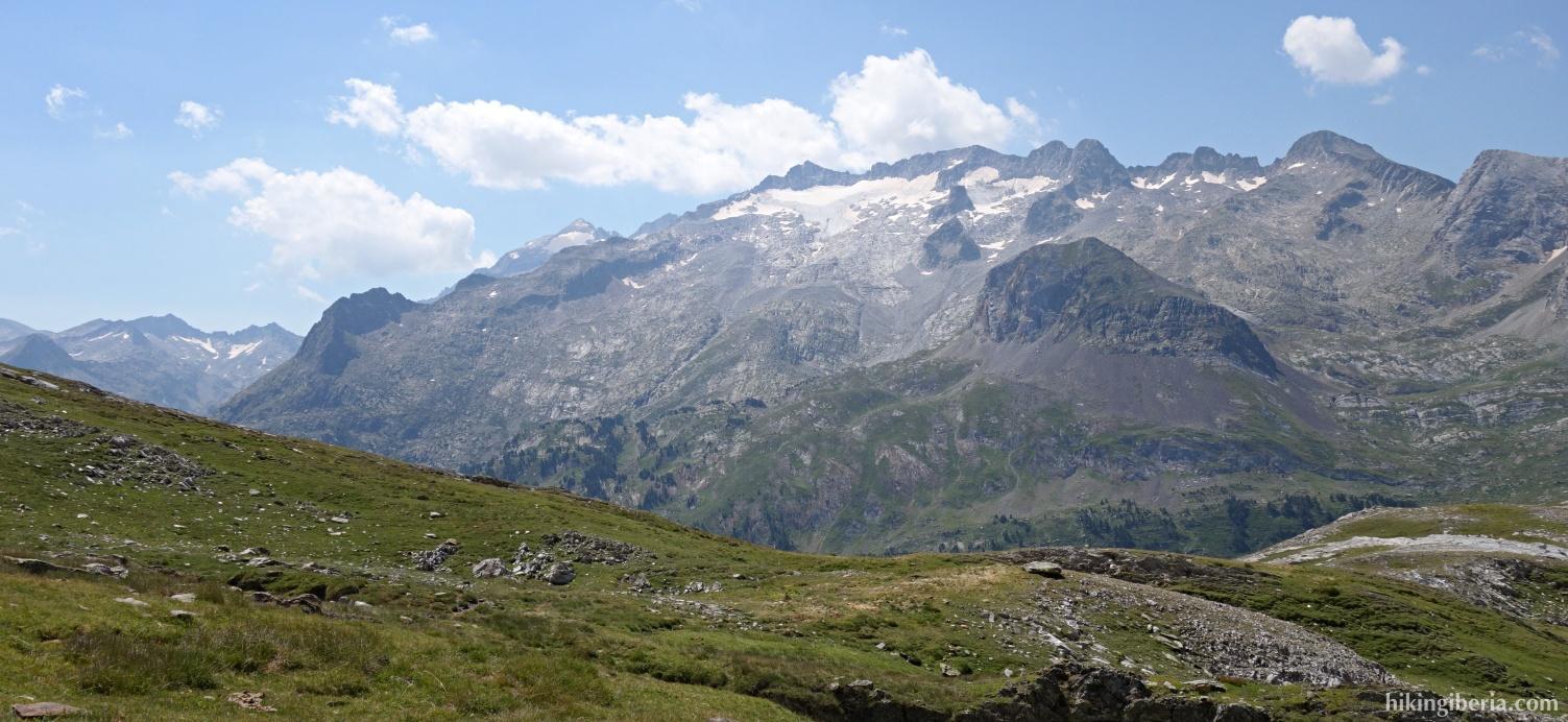 Aussicht auf dem Aufstieg zum Pico Salbaguardia
