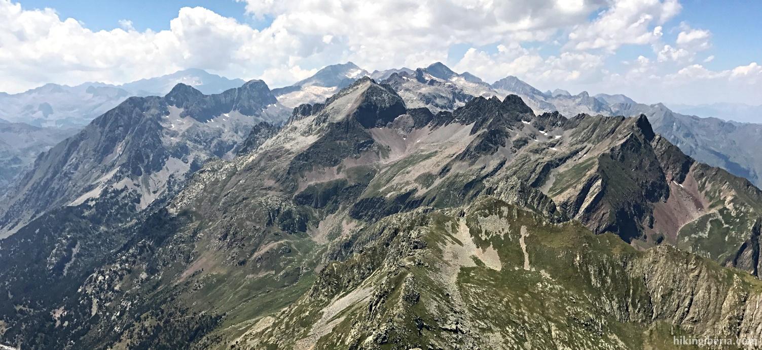 Vistas desde el Pico Salbaguardia