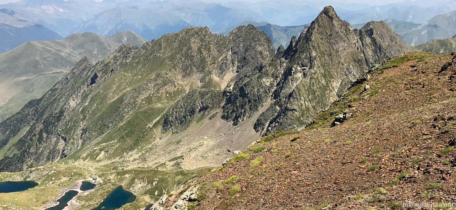 Uitzicht vanaf de Pico Salbaguardia