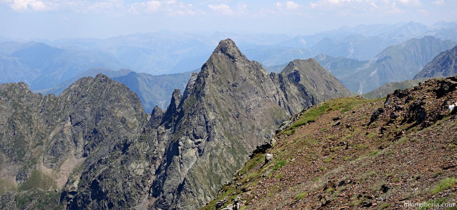 Aussicht vom Pico Salbaguardia