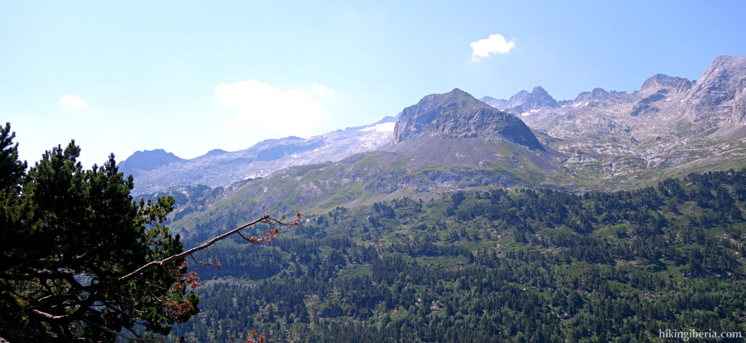 View on the Pyrenees