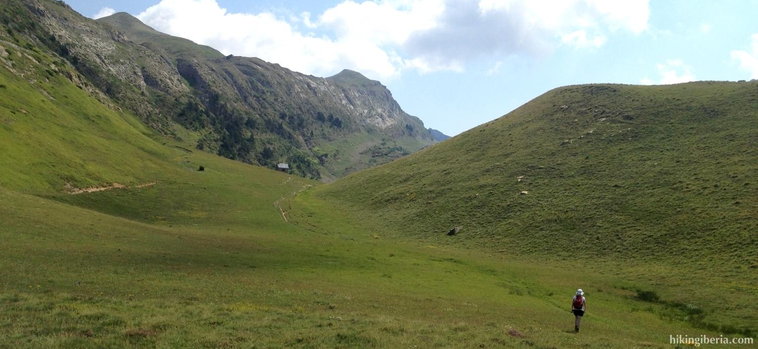 Cerca de la Cabaña de Linza