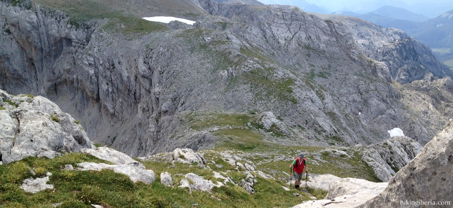 Aufstieg zum Pico Sobarcal